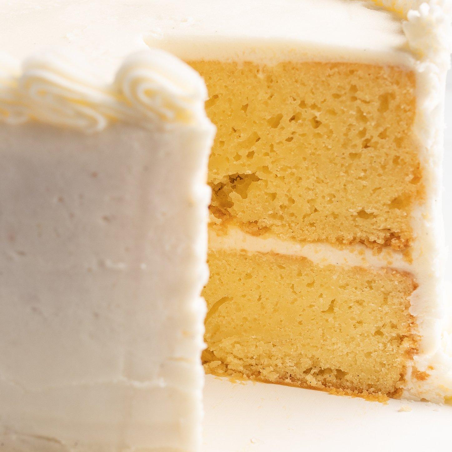 Vanilla Cutting Cake